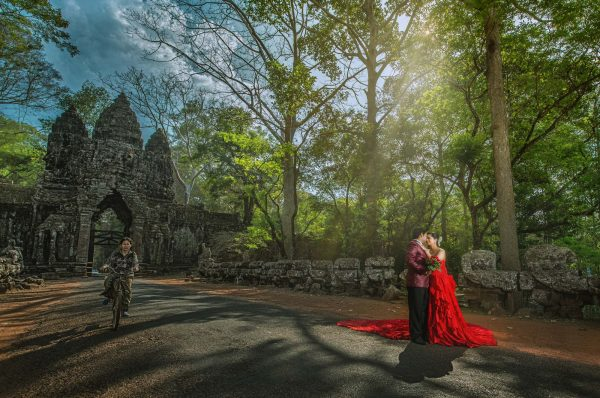 pre-wedding in Siem Reap Angkor Wat