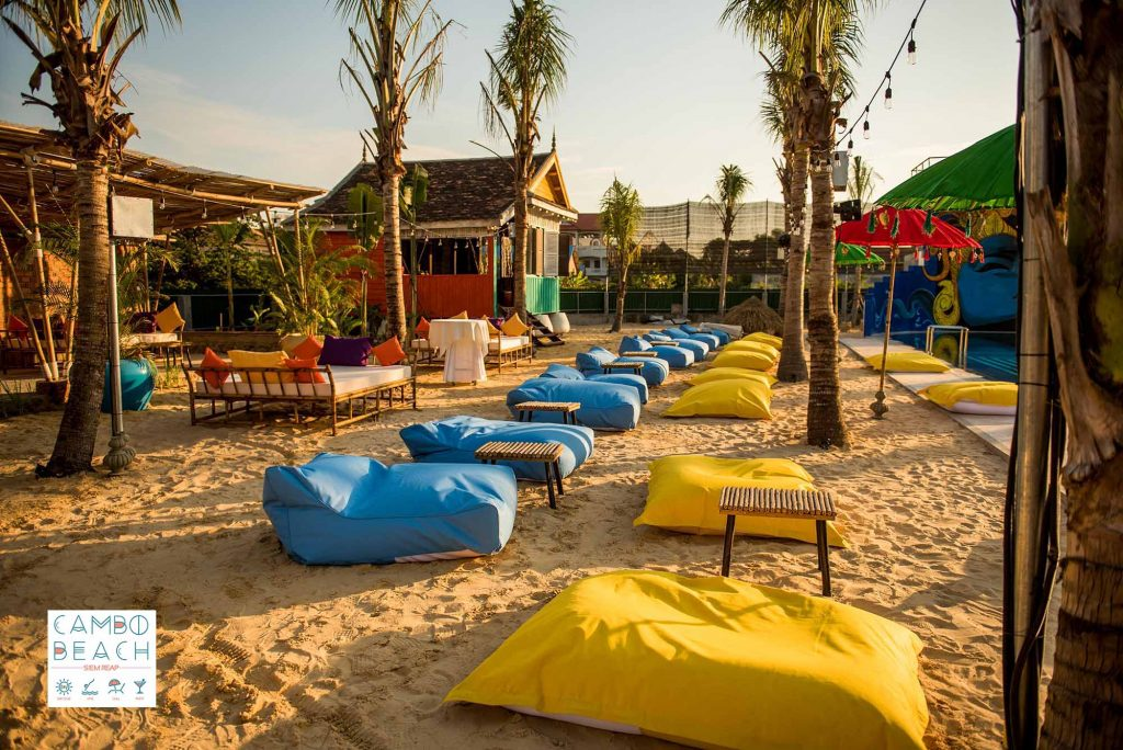 Cambo Beach Club, Siem Reap, Cambodia
