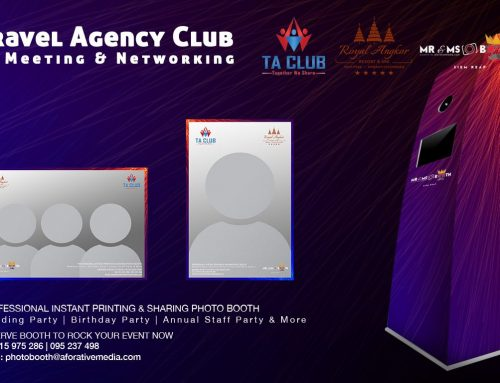 Meet Mr & Ms Booth Again at 4th Travel Agency Club
