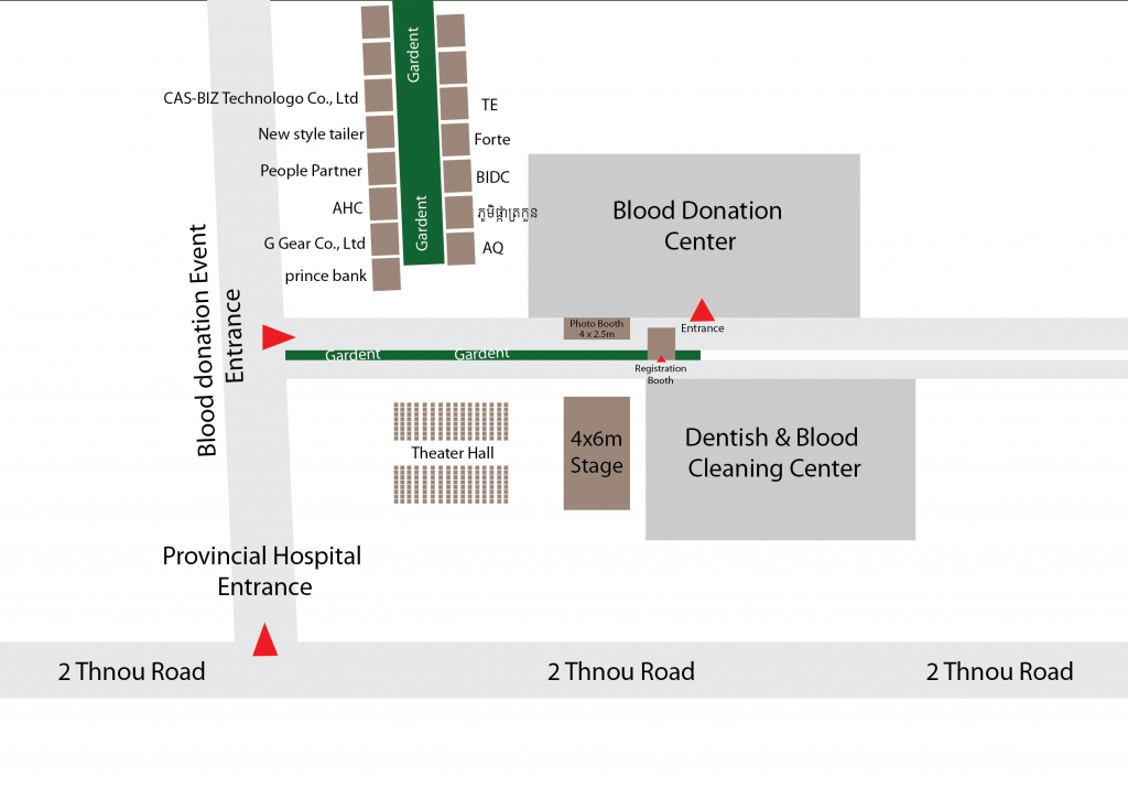 2019 blood donation floor plan